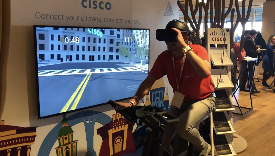 VR GAME FOR CISCO COMPANY