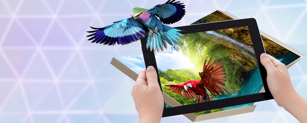 Corporate gifts and souvenirs with Augmented Reality
